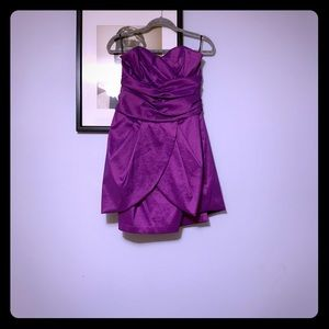 Jessica McClintock peplum dress only worn once!